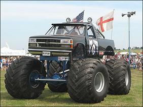 Ship a Monster Truck